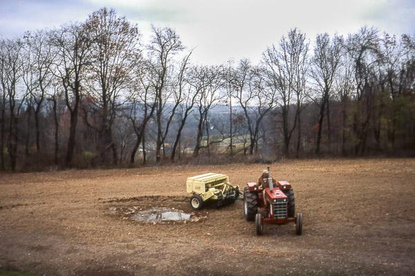 Seeding the Native Meadow